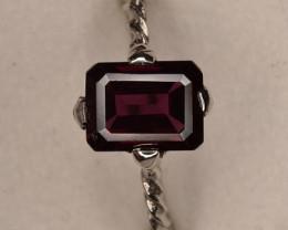 Rhodolite Garnet Ring 7.70 Carats