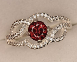 Top Rhodolite Garnet 22.85 Carats with Zircons.