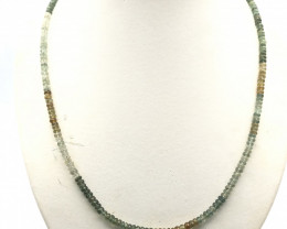 93 Crt Natural Garnet Necklace
