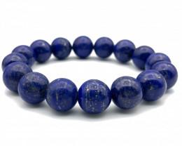 177.5 Crt Natural Lapis Lazuli Bracelet