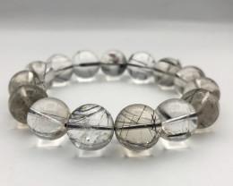 373 Crt Natural Rutile Quartz Bracelet