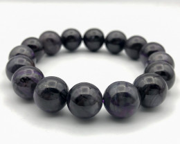 265.5 Crt Natural Sugilite Bracelet