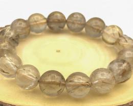 262 Crt Natural Rutile Quartz Bracelet