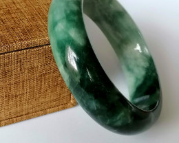 Jadeite Jade Bangle (Grade A) 402.6cts.