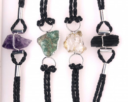 4 x Raw Rock Gemstones Bracelet - BR 951