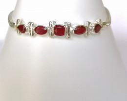 Ruby Bracelet 3.85 TCW