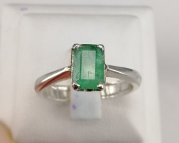 Natural Gorgeous Emerald Ring
