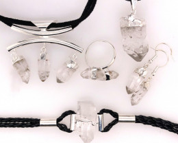 Crystal Lovers Five Piece Jewelry Set - BR 1164