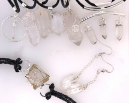 Crystal Lovers 8 Pieces Jewelry Set - BR 1171