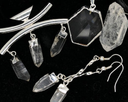 Crystal Lovers Four Piece Jewelry Set - BR 1203