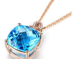 Cute Topaz Necklace
