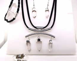 Crystal Lovers Four Piece Jewelry Set - BR 1273