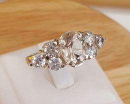Stunning Morganite Beautiful Ring