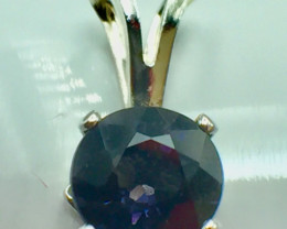 Natural Spinel Beautifulest Gemstone Silver 925 Pendant. (DSP 30)