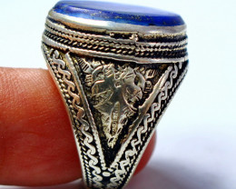 70.90 CT Natural lapis lazuli Ring Stone Special Shape