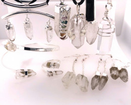 Crystal Lovers 10 Pieces Jewelry Set - BR 1469