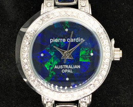 Original Ladies Silver Opal Watch Mosiac Opal  - WO 11