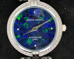 Original Ladies Silver Opal Watch Mosiac Opal  - WO 12