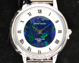 Original Ladies Silver Opal Watch Mosiac Opal - WO 14