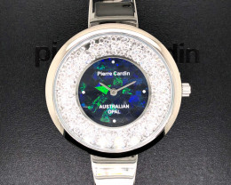 Original Ladies Silver Opal Watch Mosiac Opal - WO 18