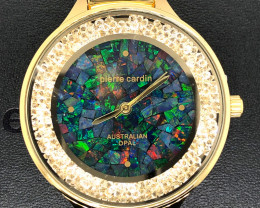 Original Ladies Gold Opal Watch Mosiac Opal - WO 21