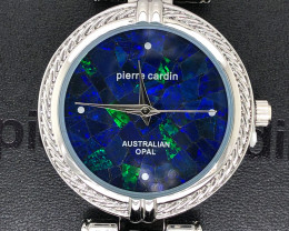 Original Ladies Silver Opal Watch Mosaic Opal - WO 47