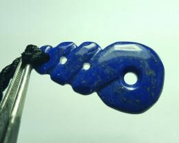 16.4 cts Beautiful Natural Lapis Lazuli Pendant.