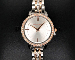 Pierre Cardin Ladies Watch  Silver/Rose Gold WO 58