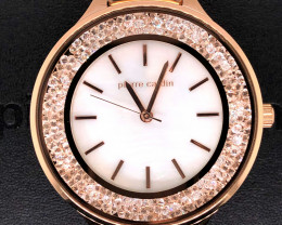 Mother Pearl Pierre Cardin Ladies Rose gold Watch WO 63