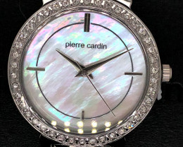 Mother Pearl Pierre Cardin Ladies Gold  Watch WO 66