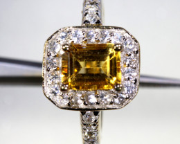 22.30  CTS CITRINE SILVER RING SG-3050