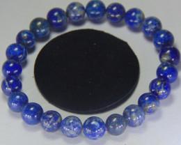 Beautiful lapis lazuli Beats 8 mm Round