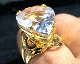 Stunning Fashion Quartz Brazilian ring BR 2451