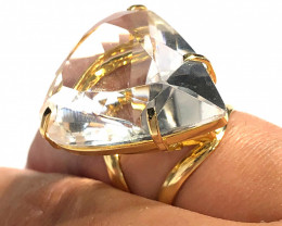 Stunning Fashion Quartz Brazilian ring BR 2452