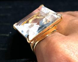 Stunning Fashion Quartz Brazilian ring BR 2454