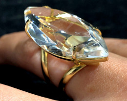 Stunning Fashion Quartz Brazilian ring BR 2455