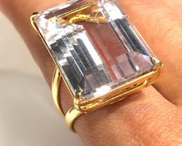 Stunning Fashion Quartz Brazilian ring BR 2456
