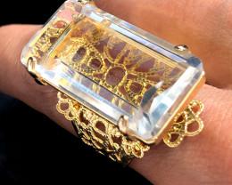 Stunning Fashion Quartz Brazilian ring BR 2457