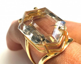 Stunning Fashion Quartz Brazilian ring BR 2458