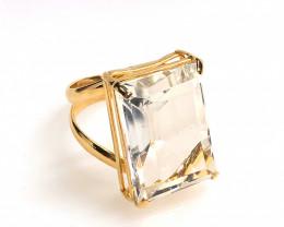 Stunning Fashion Quartz Brazilian ring BR 2459