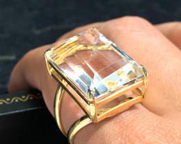 Stunning Fashion Quartz Brazilian ring BR 2460