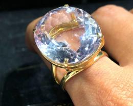 Stunning Fashion Rose Quartz Brazilian ring BR 2461