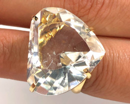 Stunning Heart Fashion Quartz Brazilian ring BR 2472