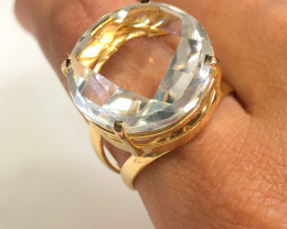 Stunning Fashion Quartz Brazilian ring BR 2478