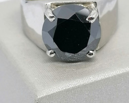 Black Diamond Solitaire 4.00cts.