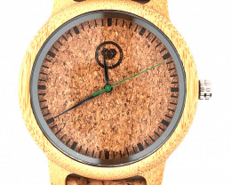 Man Treasures Eco Friendly Bamboo watch WO 78