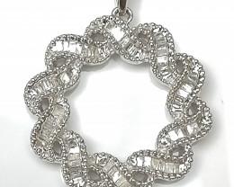 Diamond Necklace 0.33 TCW