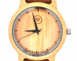 Treasures Eco Friendly Bamboo watch WO 102