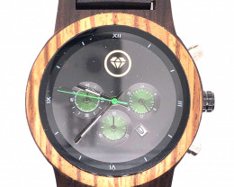 Treasures Eco Friendly Bamboo watch WO 129