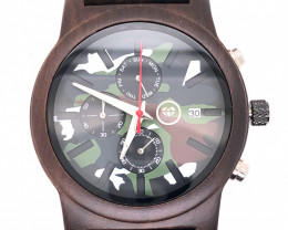 Militar Treasures Eco Friendly Bamboo watch WO 189